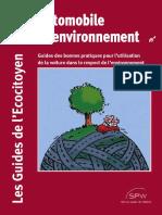 Automobile Environnement