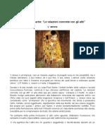 6 - Sartre, Amore e Malafede (Le Relazioni Con Altri). 2012- 2013