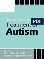 Eric Hollander & Evdokia, & Anagnostou, M D - Clinical Manual for the Treatment of Autism En