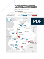 Características de La Red Ferroviaria en Extremadura