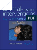 Merope Pavlides - Animal-Assisted Interventions for Individuals With Autism En