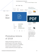 30+ Best Photoshop Actions of 2018