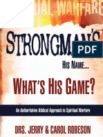 Strongman is His Name, What is His Game by Drs Jerry & Carol Robeson-129pg