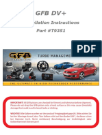 MANUAL GFB DV+ - t9351 Instructions