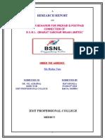 36453034 Final Bsnl Report