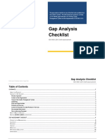 ISO 9001-2015 Gap Analysis Checklist