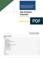 ISO 9001-2015 Gap Analysis Checklist