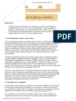 Catecismo de La Iglesia Católica, Prólogo, 1-25