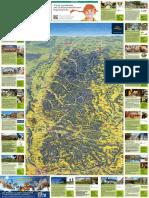 Panoramakarte Schwarzwald