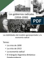 Clase (1916-1930) Radicalismo