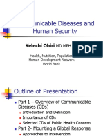 Communicable Diseases Oh i Ri