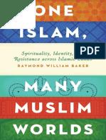 Baker, Raymond William - One Islam, Many Muslim Worlds_ Spirituality, Identity, And Resistance Across Islamic Lands (2015, Oxford University Press)