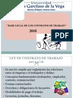 Base Legal de Contratos de Trabajo