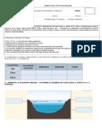 evaluacion agua 5° 2017