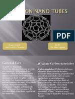 Carbon Nano Tubes Ppttttt