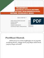 FORMULASI TEKNOLOGI SEDIAAN OBAT TRADISIONAL kel V.pptx