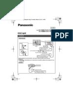 Panasonic Dect KX-TG6812FXB,