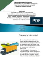 Diapositiva de Unidad V