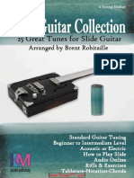 Brent Robitaille - Slide Guitar Collection - 25 Great Slide Tunes in Standard Tuning