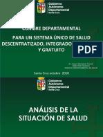Situación de Salud Santa Cruz 2018