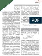 Indices de Precios al Consumidor del Diario el Peruano Noviembre 2018