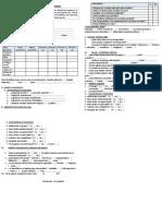 Ficha Diagnostica Del Estudiante Primaria