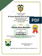 Diplomas Serpentina