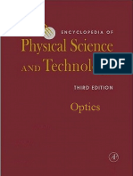 (Encyclopedia of Physical Science and Technology) Robert Allen Meyers (Editor)-Encyclopedia of Physical Science and Technology - Optics-Academic Press (2001)