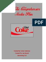 diet coke media plan
