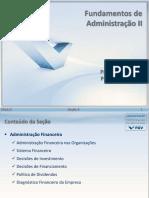 Fundamentos de Administracao II - NA 2016-2 - Secao 06