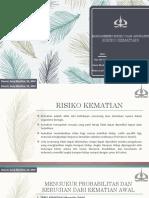 Edited Bab 6 - Risiko Kematian