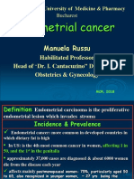Lecture 22- Endometrial Cancer