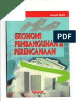 Buku Ekonomi Perencanaan