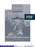 Tratado de Derecho Mercantil - Tomo i - Ley General de Sociedades[1]