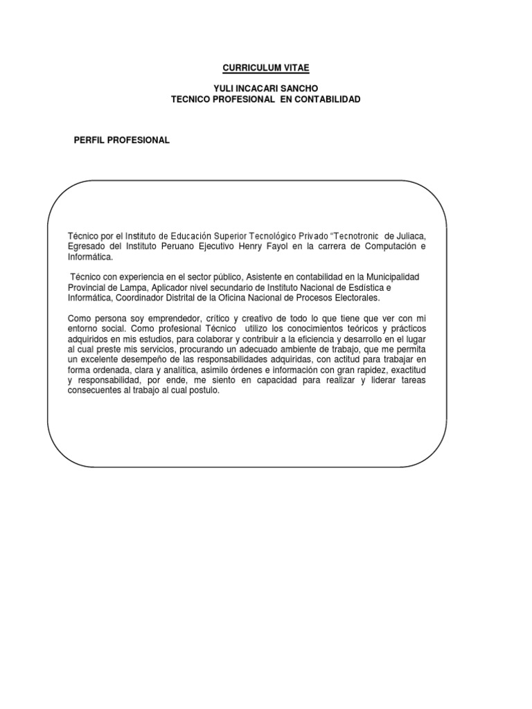 Curriculum Vitae Yuli 2018 Docx