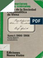 Las reuniones de los miércoles. Tomo I. 1906-1908 [Herman Nunberg & Ernst Federn].pdf