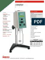 VISCOMETER Low Cost Digital Model DV-E