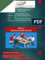 Diapositivas de Derecho de Obligaciones.