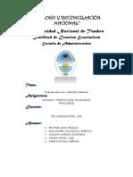 Trabajo El Estado de Flujo de Efectivo Metodo Indirecto Grupo Nª 05