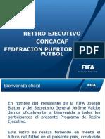 Pp Retiro Ejecutivo Concacaf Pr