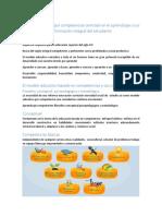Modelo Educativo Por Competencias Centrado en El Aprendizaje y Sus Ampliaciones de La Formación Integral Del Estudiante