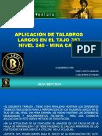 Voladura Taladros Largos[1]
