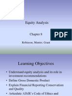Ch08 Equity Analysis