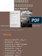 Emily Brontë-cumbres Borrascosas, Paula Jiménez 5ºd
