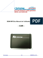 Fgtech User Manual Car