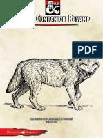 Regras Alternativas - Companheiro Animal D&D 5E