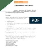 Procedimiento Mantenimiento de Torres y Mást Iles Anexo 5