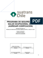 Programa de SSO