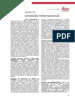 InternationalLimitedWarranty Portuguese 2013