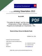 Corrupção Pelo Desenho 2015-MariadaGracaPrado